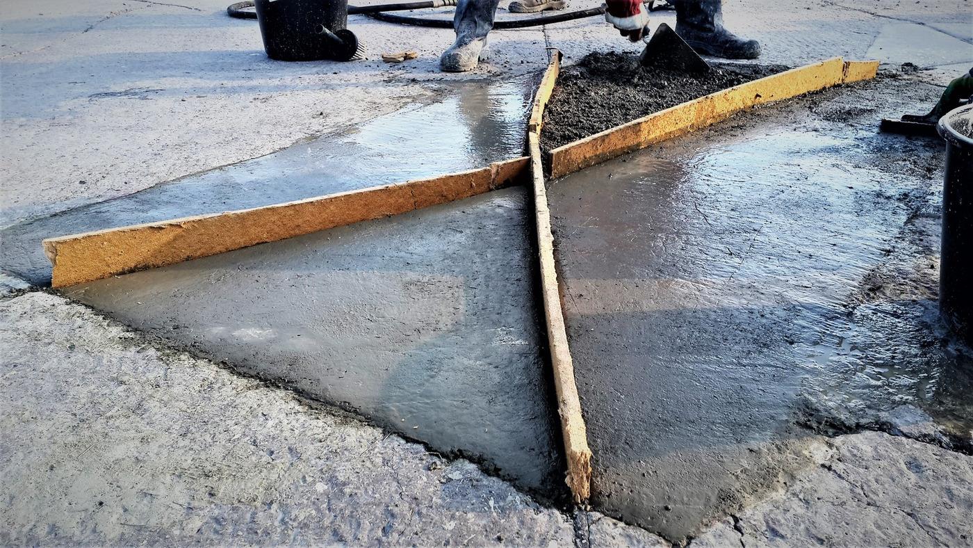 Бетонная смесь f плотно цементного раствора