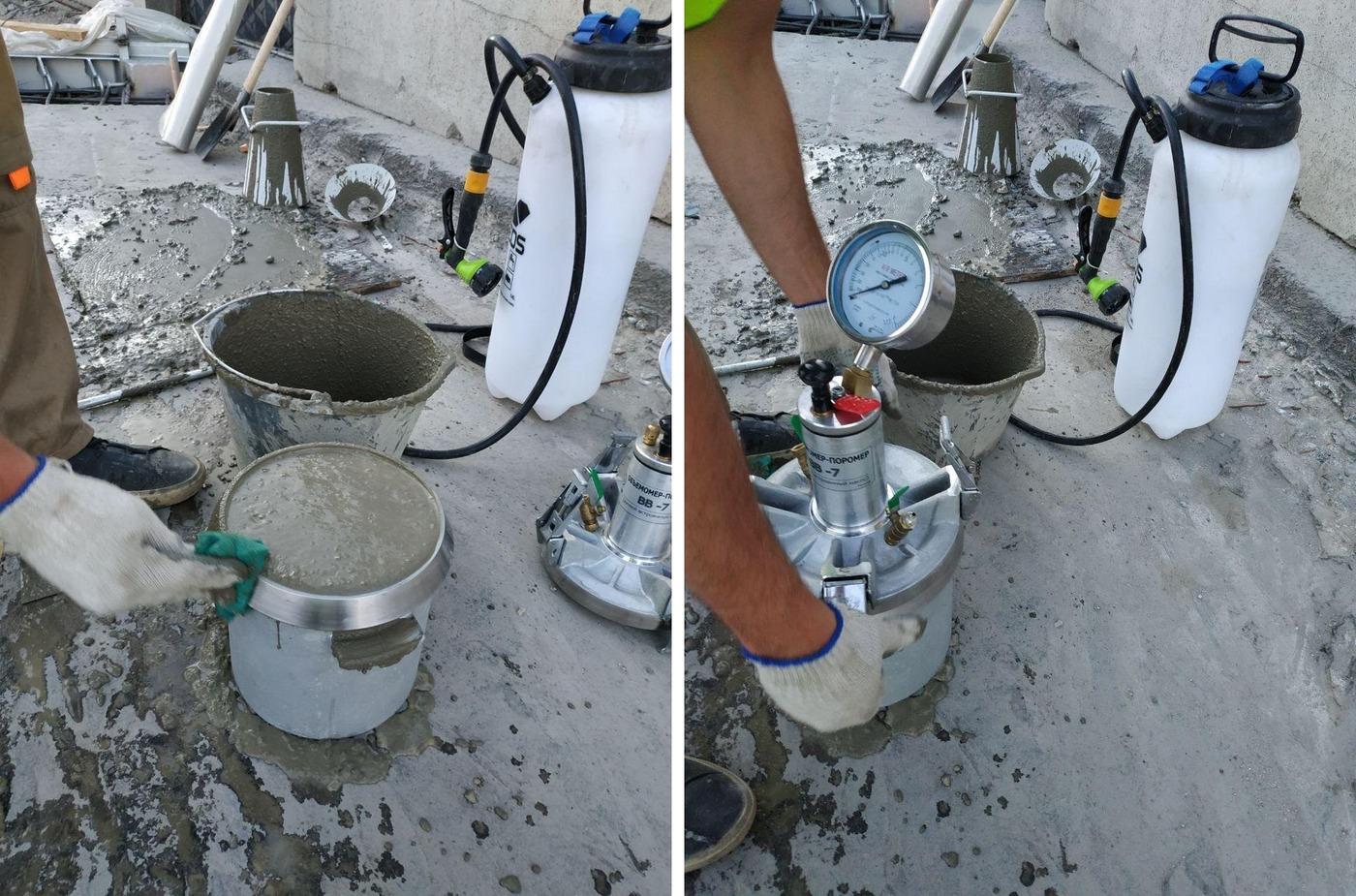 Лабораторный контроль бетонной смеси купить бетон в одинцово цена свой бетон
